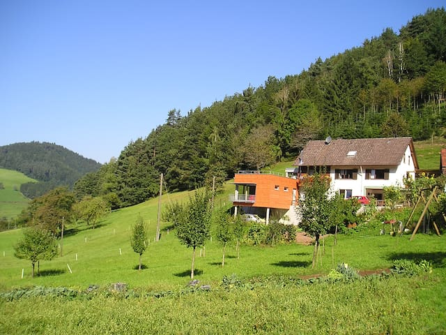 Ebersbacher Sonnenhalde - Gutach (Schwarzwaldbahn) - Oda + Kahvaltı