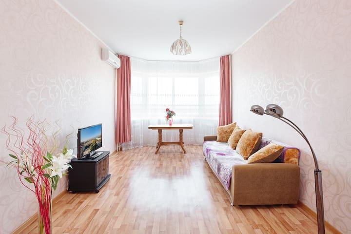 Квартира с шикарным видом на Амур! - Khabarovsk - Leilighet