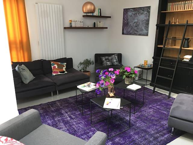 Appartement indépendant dans beau loft + garage - Chartres - Appartement