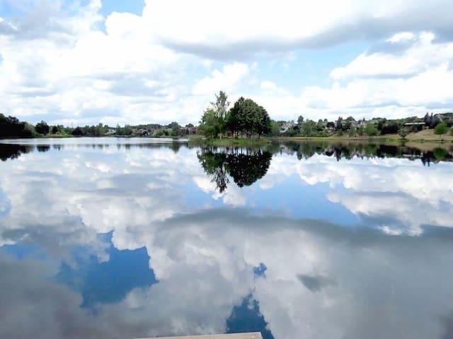 Escape to the nature, SAUNA, LAKE and RELAX - Draseikiu km. - Villa