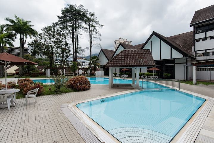 2 room Genting highlands pahang with great view - Genting Highlands - Lägenhet