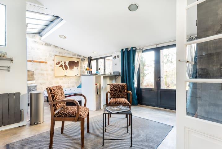 Studio Atelier Artiste 15' de Paris - Chatou - Appartement
