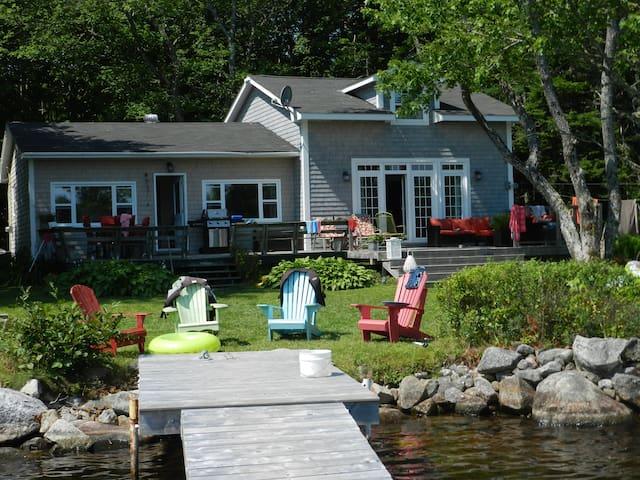 Mill Lake ,Hubbards .South shore - Hubbards - Kabin