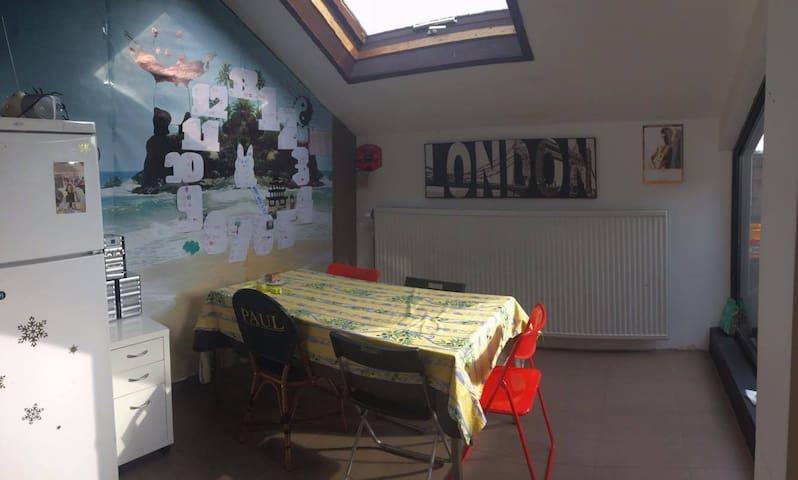 Appartement place rabelais (centre) 1-7 personnes - Ottignies-Louvain-la-Neuve - Apartment