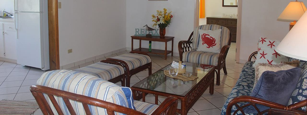 2 Bedroom Sand Dollar Cottage - Stella Maris - Casa