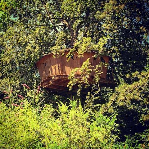 La cabane au fil de l'eau - Wail - Boomhut