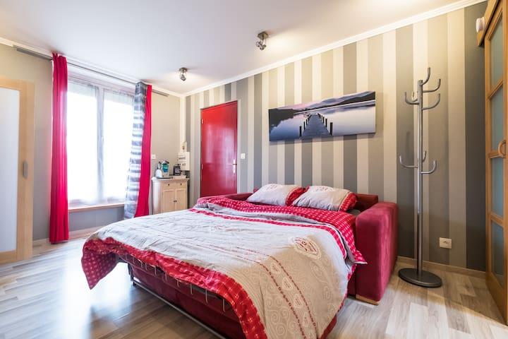 Studio de charme - proche Chantilly - Saint-Leu-d'Esserent