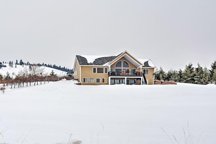 Updated Polson Studio w/ Mountain Views! - Polson - Apartemen
