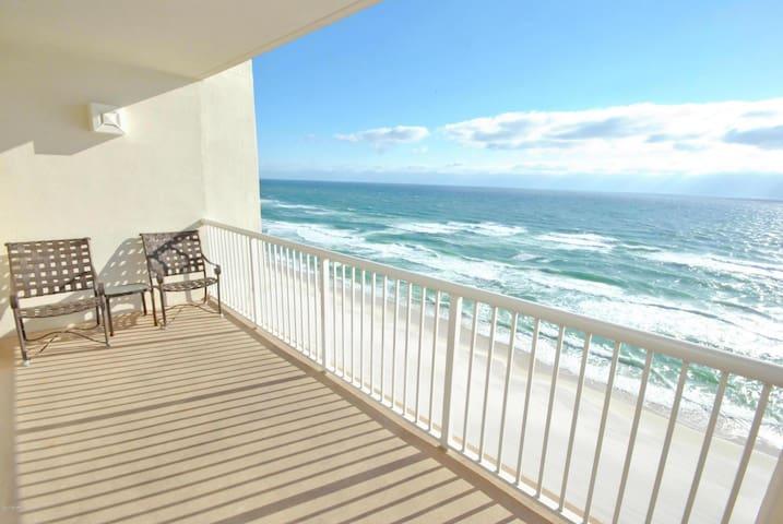 Beachfront Condo, Ocean View, Quiet unit, Resort - Panama City Beach - Condomínio