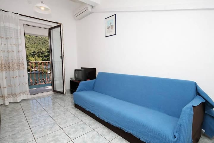 One bedroom apartment with balcony and sea view Pasadur, Lastovo (A-996-c) - Pasadur - Daire