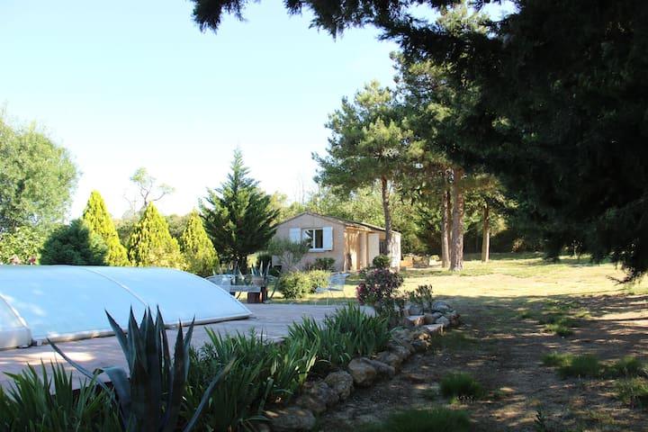 Maison calme    F3-45m²   proche MontpAgglo et Mer - Lavérune