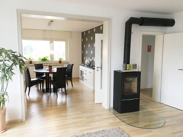 NEU: Gemütliche, moderne Wohlfühlwohnung - Bad Lippspringe - Apartemen