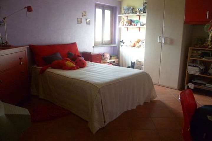 Heart of Tuscany: private room in family flat - Montelupo Fiorentino - Huoneisto