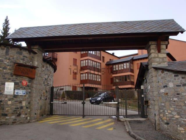 Apartamento cerca de pistas de ski - Bourg-Madame