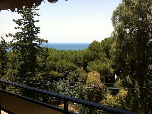 Furnished House, Easy access, Calm Neighborhood - Kfar Hbab - Ev