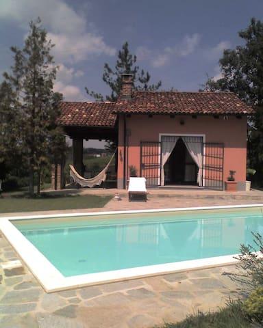 Cozy country nest in Monferrato vineyards - Calliano - Hus