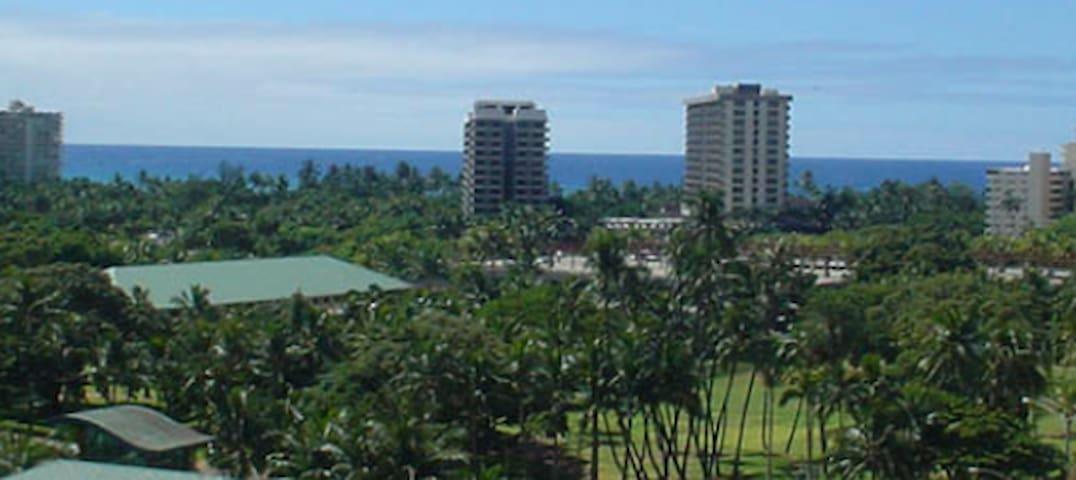 Serene Ocean & Mountain View w/Kitchenette & more - Waikiki