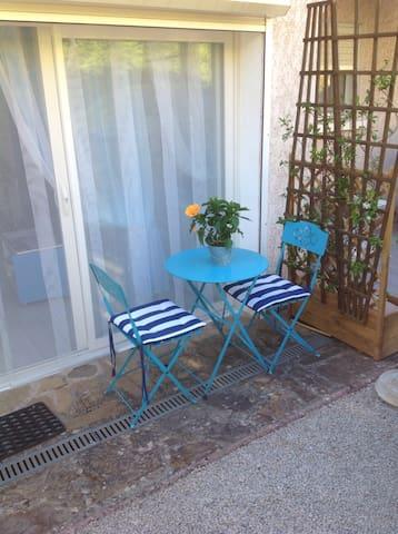 Studio attenant à la villa ,entrée indépendante - Lodève