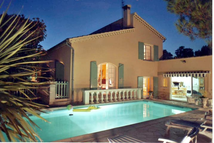 Pretty VILLA  with AIR COND. + POOL in PROVENCE - オランジュ - 別荘