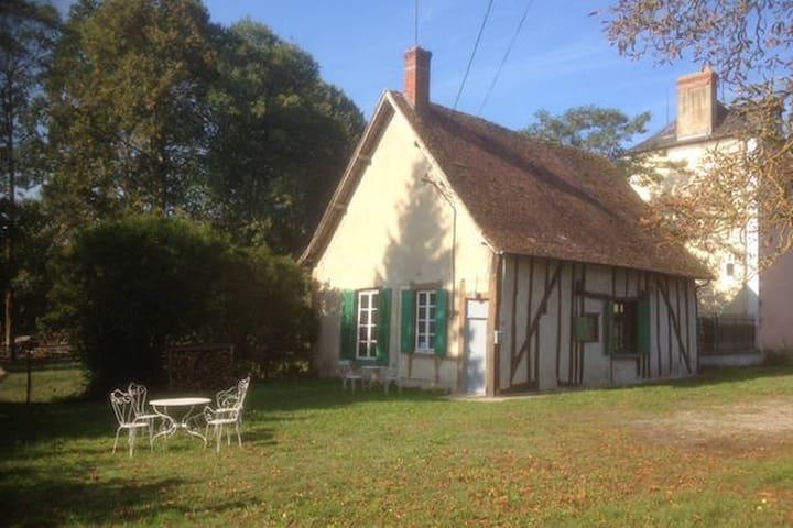 P'tit Roy - Independant cottage - 3 rooms - garden - Villeneuve-sur-Allier - Hus
