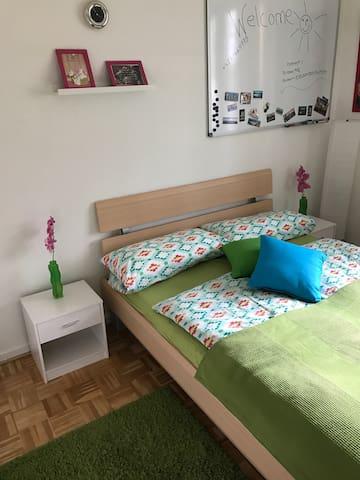 Gemütliches Zimmer in 3 Zimmer Wohnung FL Engelsby - Flensburg - Apartemen
