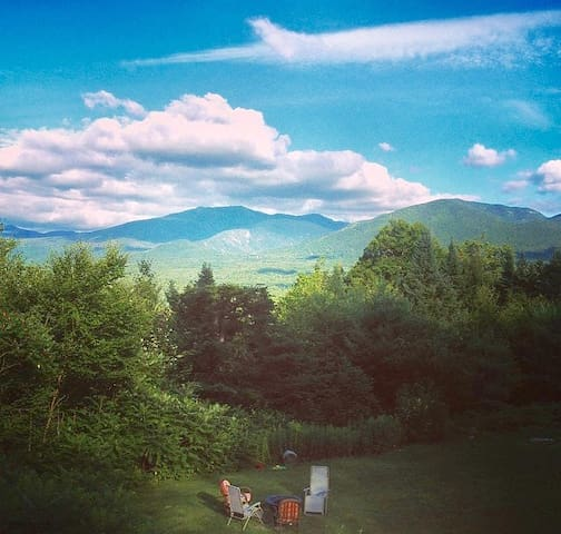 Best View of Mt. Lafayette,Heart of the White Mnts - Franconia - Hus