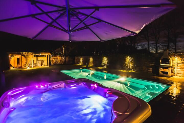 Poolhouse/Wintercottage - Hasselt - Pousada