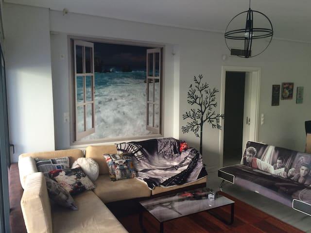 Wonderful house by the sea - Ελληνικό - Apartamento