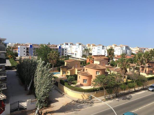 Apto. Denia. Las Marinas.5 min Playa (AIRE ACOND.) - Denia - Apartmen