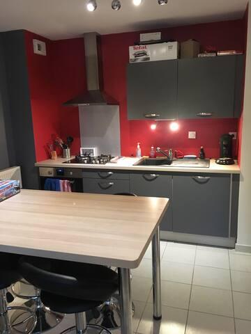 Appartement proche Bourg - Buellas - Daire