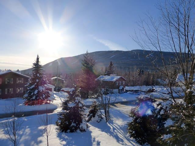 Chalet mezzanine, avec vue sur la montagne - Saint-Ferréol-les-Neiges