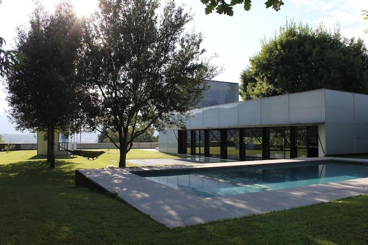 casa amb vistes espectaculars - Olot - Maison