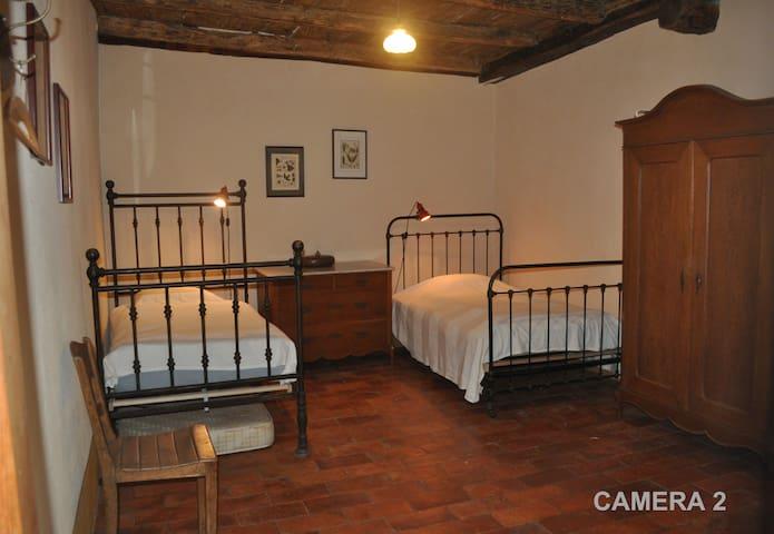 Camera doppia Affittacamere Sumenza e radis - Stabio - Casa