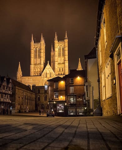 CLEAN B&B. CATHEDRAL & CASTLE AREA - Lincoln - Apartemen