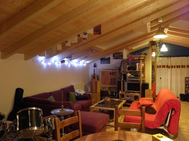 Appartement atypique et agréable - Reignier-Esery