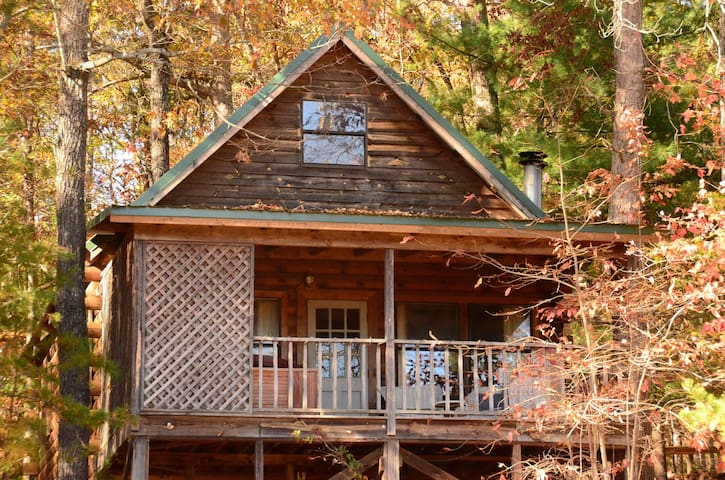Wildwood cabin at Sunburst Adventures - Clarkesville - Houten huisje