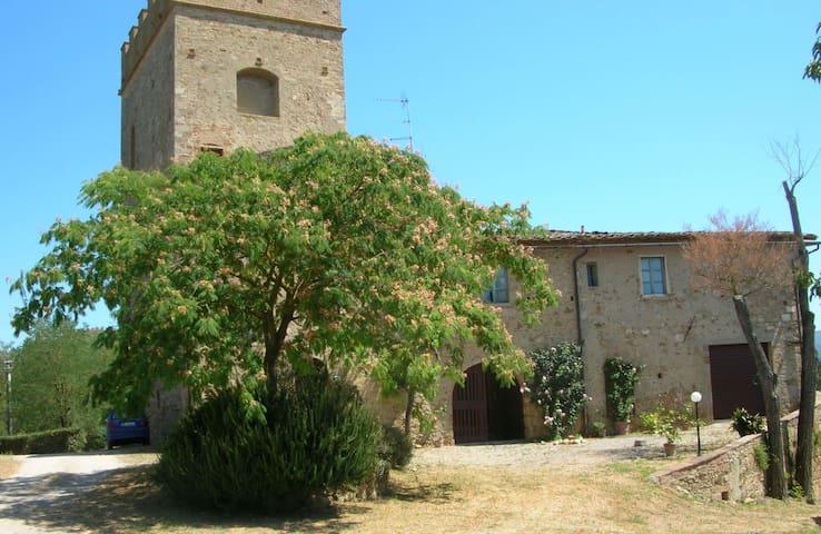 Apartment in Medieval Tower - Poggibonsi - Apartment