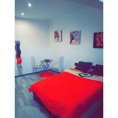 Chambre dans appartement 95m2 - Beaucourt - Appartement