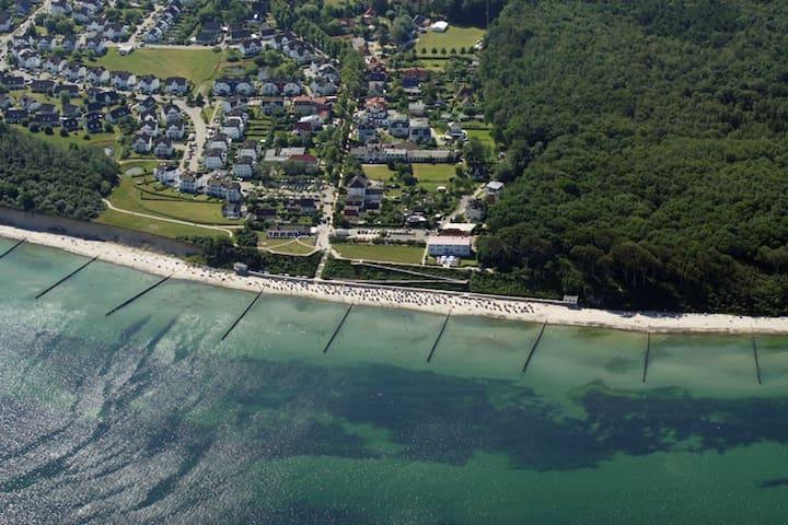 Penthouse mit Meerblick und 50m zum Strand - Nienhagen - Loft