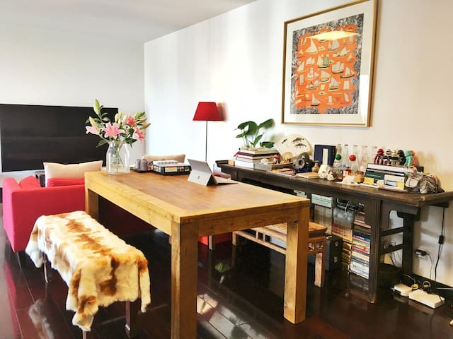 田子坊日月光的高层公寓/ART Room in Tianzifang - Shanghai - Apartemen