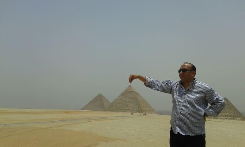 PYRAMIDS VIEW&TOUR GUIDE,  CAR (10) - egypt pyramids high way fayuom rode  - Leilighet