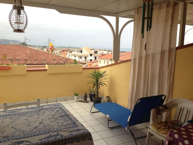 appart Campora San Giovanni-grande terrasse-vuemer - Campora San Giovanni - Appartement