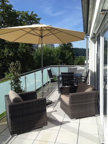 NEW LUXURY PENTHOUSE/free parking - Luxemburg - Appartement