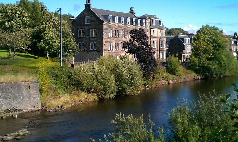 A warm and friendly B&B apartment in Hawick.. - Hawick - Daire