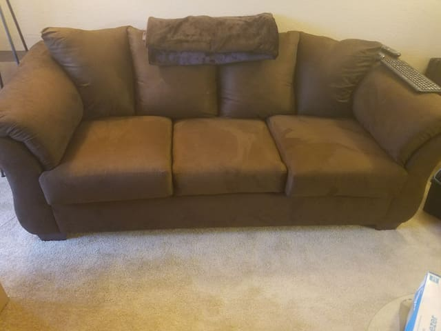 Couch with a Mountain View - Puyallup - Appartement