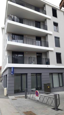 F2 Neuville sur Saone en centre vil - Neuville-sur-Saône - Lägenhet