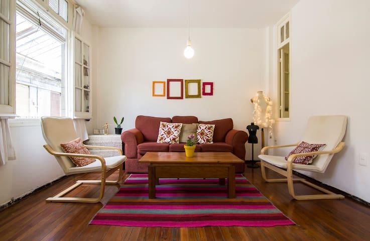 HABITACIÓN PRIVADA EN EDIFICIO HISTORICO. - Montevideo - Appartement
