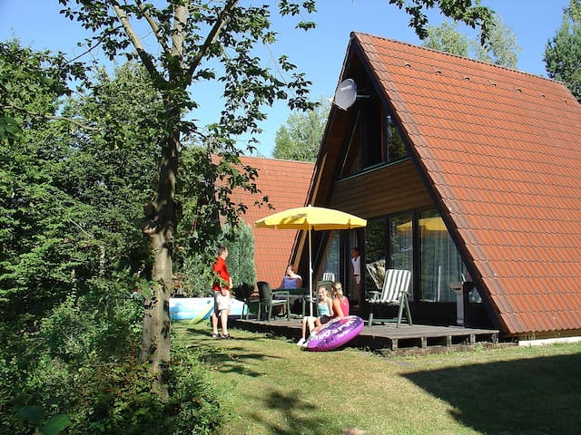 3-room house 68 m² Ferienpark Ronshausen for 6 persons in Ronshausen - Ronshausen - Casa