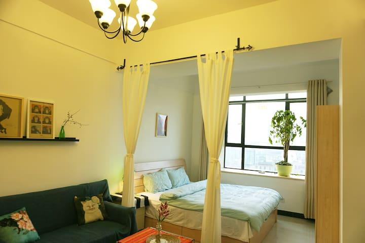 老租界/市中心/江汉路步行街地铁站/ 公寓A - Wuhan - Apartemen
