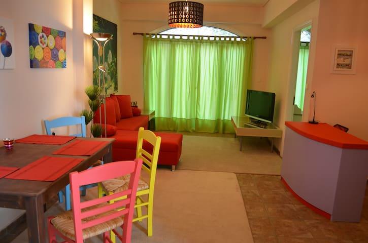 Cute apartment at the center 2 - Mitilini - Leilighet